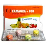 Kamagra Chewable Flavoured 100mg - 8-free-tabs