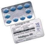 Sildigra 50mg - 10-free-tabs