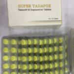 Super Tadapox 40/60mg - 10-free-tabs